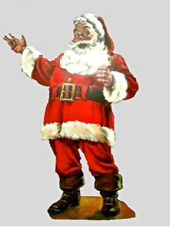 Picture of Cutout Santa