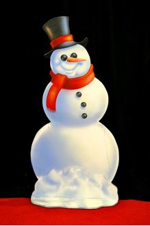 Picture of Cutout Snowman