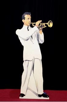 Picture of Cutout Trumpet Player