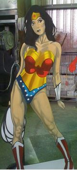 Picture of Cutout Wonder Woman