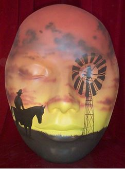 Picture of Mask Outback Windmill