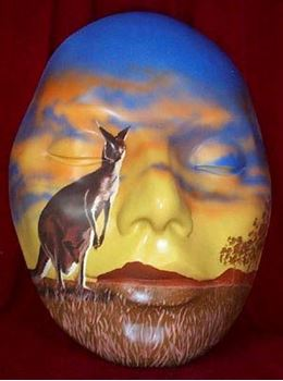 Picture of Mask Red Kangaroo