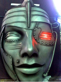 Picture of Mask Warrior Robot