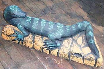 Picture of Lizard / Goanna 3D Statue