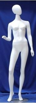 Picture of Mannequin White Flexible Head