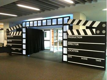Picture of Hollywood Clapper Board Entrance Small