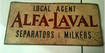 Picture of Sign - Alfa Laval
