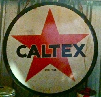 Picture of Sign Caltex