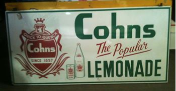 Picture of Sign Cohns Lemonade  Large