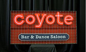 Picture of Sign Coyote Bar