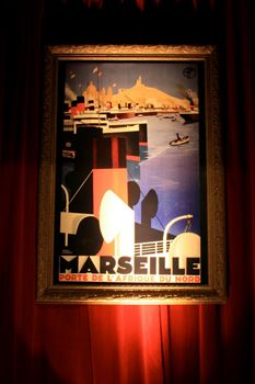 Picture of Marseilles Travel Sign