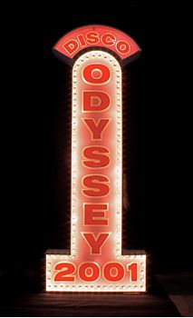Picture of Sign Odyssey Disco Backlit