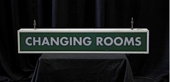 Picture of Sign Changing Rooms