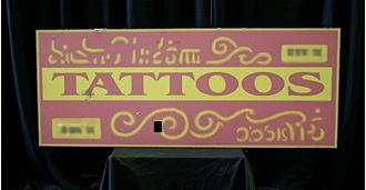 Picture of Sign Tattoo Bar