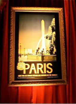 Picture of Paris Travel Sign