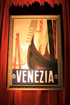 Picture of Venezia Travel Sign