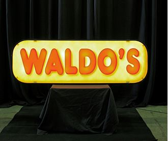 Picture of Sign Waldo's Backlit