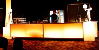 Picture of Glow Bar - Art Deco Theme U-Shape