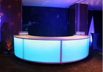 Picture of Glow Bar - Semi Circular 4m