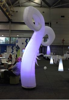 Picture of Inflatable Curved Arch  3m