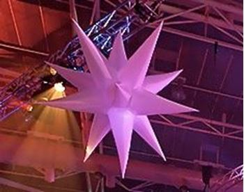 Picture of Inflatable Star 16 Point 3m