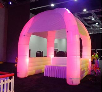 Picture of Inflatable Booth 4m x 4m x 5m H