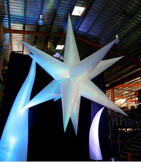 Picture of Inflatable Star 16 Point 5m