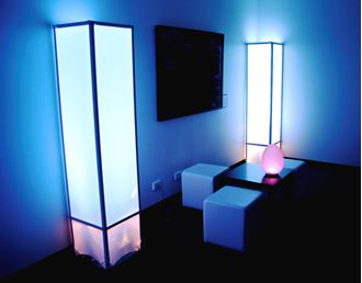 Picture of Lycra Column LED Glow Lamp 1.8m H