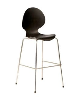 Picture of Poly Vogue Stool Black