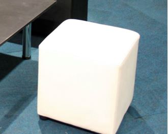 Picture of Ottoman Square White