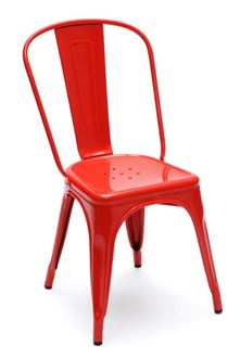 Picture of Tolix Style Chair Red