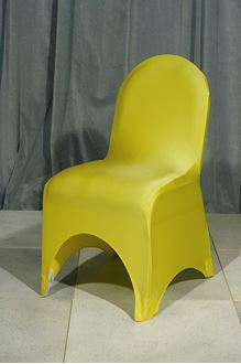 Picture of Chair Cover Yellow Lycra