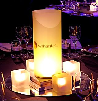 Picture of Centrepiece  LED Cylinder Logo