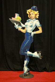 Picture of Cutout Diner 50's Waitress