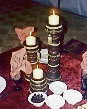 Picture of Centrepiece Arabian Candlestick