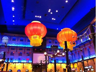 Picture of Inflatable Chinese Lanterns 4m W x 4.5mH