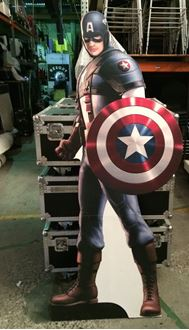 Picture of Cutout Captain America