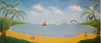 Picture of  Tropical Beach #2 -Backdrop-  10m W x 4.2m H