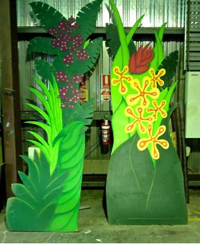 Picture of Cutout Tropical Greenery 5