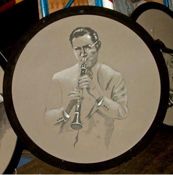 Picture of Jazz Portrait Benny Goodman 1.8m round