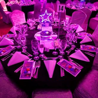 Picture of Centrepiece LED Star Acrylic