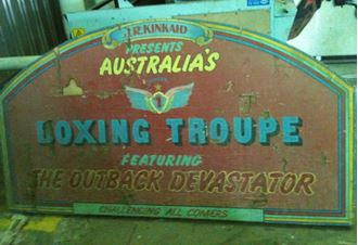 Picture of Sign Vintage Boxing