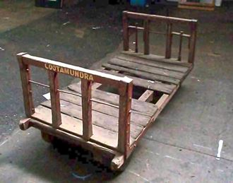 Picture of Vintage Railway Luggage Cart