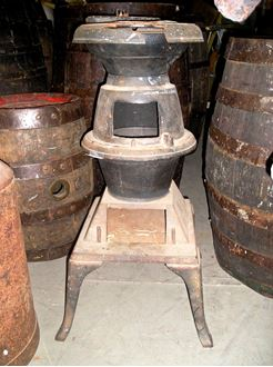 Picture of Pot Belly Stove