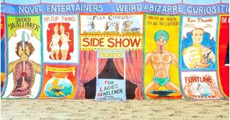 Picture of Backdrop Circus Sideshow Alley