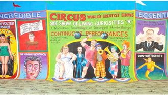 Picture of Backdrop Circus Sideshow Alley  2
