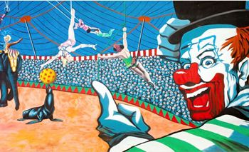 Picture of Backdrop Circus Under the Big Top