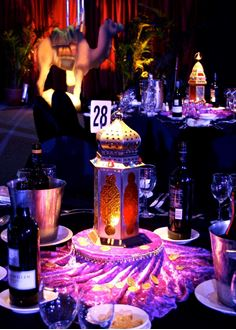 Picture of Centrepiece - Arabian Lanterns