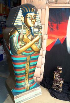Picture of Egyptian Sarcophagus