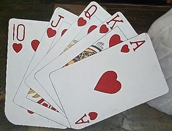 Picture of Cutout Deck of Cards